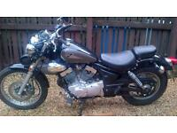 virago 125cc cruiser bobber for sale