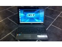 acer 5551 laptop * dual core * microsoft office * acer gamezone * webcam * trade in wellcome*
