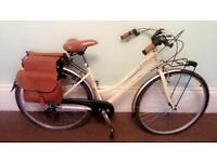Beach cruiser city town road bike vintage beige