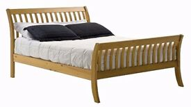 SINGLE BED NEW / LAPAZ WASH SINGLE PINE BED FRAME ANTIQUE NEW