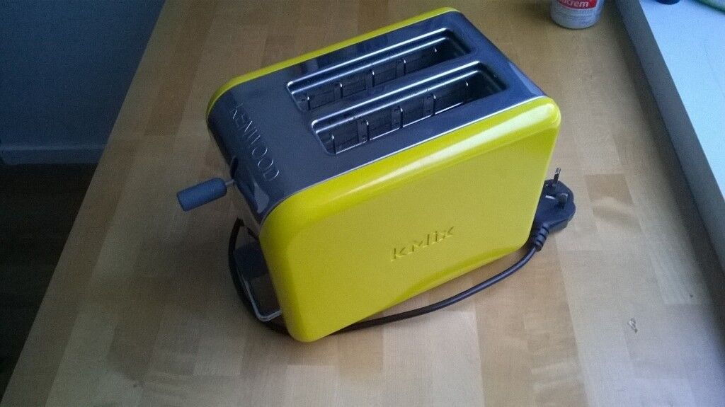 Bright Spark Toaster ~ Kenwood kmix ttm litre toaster bright yellow not