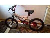 """BMX Bike 18"""" wheels"""