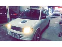 Daihatsu cuore yrv 130 turbo converted not vxr Cupra gti gtd vrs replica fr wrx red top