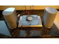 Bush Radio and Impedance OHMS speakers