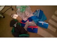bundle of designer boys clothes and trainers 12-18 months