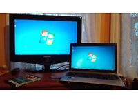 Laptop Toshiba Satellite L500 Intel CPU 2.20Ghz 250GB HDD 3GB RAM Windows 7 HDMI Camera