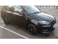 Skoda Fabia 1.4 TSI vRS Estate 5d DSG Automatic - 2012 - Black with black wheels