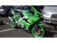 Kawasaki ninja zx6r 636 a1p model or swaps for £1000 family car and cash my way of £1000