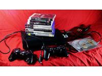 PS3 Sony PlayStation Super Slim 3 12GB +Games