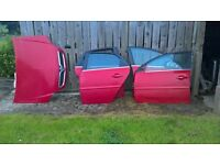 vectra c doors and bonnet (astra bumper)