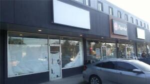 A -Flexible Retail Space| Beside Pizza Hut| Up to $20k incentive