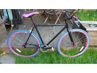 Custom fixie bike 55cm frame