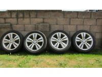 """MERCEDES ML 20"""" WHEELS AND TYRES"""