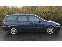 CHEAP DIESEL FORD FOCUS ESTATE 1.8L TD (2003) year mot car/van