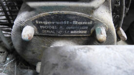 1964 ingersoll rand model A vintage air compressor - ideal for vintage car, tractor farming spraying