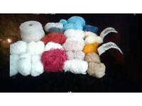 wool job lot