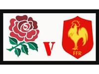 England v France six nations rugby twickenham