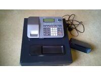CASIO SE-S100 Cash register/till plus electronic note checker plus a till roll
