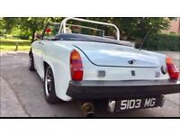 MG Midget white 1976