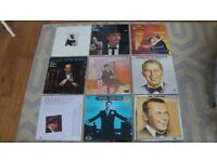 9 Frank Sinatra Vinyl LPs
