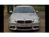 2014 (64) BMW F10 530D M SPORT PLUS PACKAGE///PRO SAT NAV///PADDLE SHIFTERS. 1 OWNER.