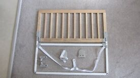 BabyDan Wooden Bed Guard (in Natural)