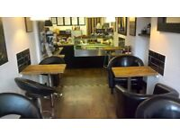 Coffee and sandwich bar for sale