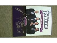 Mint Impractical Jokers signed promo lobby card for UK tour