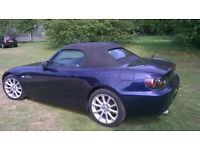 Immaculate Honda S2000 for sale. Low mileage. Only 2 previous owners.