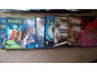 Bundle of 8 childrens DVDs