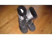 SKI/MOON/SNOW BOOTS OLANG SIZE 35-36 (UK 3-3.5) HARDLY WORN