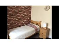 Single room near Bedford hospital, town & gym