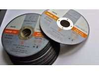 25 angle grinder discs 115x1x22 cutting discs inox ,steel , metal, cutting wheel, abrasive