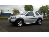 Land Rover Freelander Xei: + 1 MOT, Warranty, Great summer or winter car, tow bar. Just in stock.