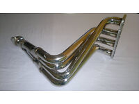FORD FIESTA MK 5 STAINLESS STEEL 4-2-1 RACE EXHAUST MANIFOLD 1.25i 1.4i 1.6i 16v