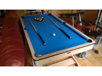 BCE Table Sports 6 ft folding Pool and Table Tennis table