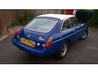 MGB GT With Liverpool Football Club Number Plate