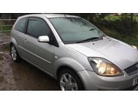 2008 Ford Fiesta 1.2 Zetec Blue. Bluetooth, Low Mileage, Service History, 1 Year MOT