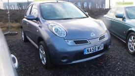 NISSAN MICRA 1.2 ACENTA 5d 80 BHP * LIKE FOR LIKE BEST VALUE AROUND * (grey) 2008
