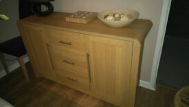Argos Heart of House Sideboard Oak Effect - Excellent condition