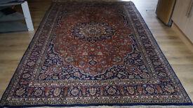 hand made indian carpet large