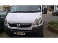 MWB Hi Roof Vauxhall Movano 2.5L CDTi Diesel 125,000 Miles, 3.5 TONNE, Manual (Transit, Traffic)