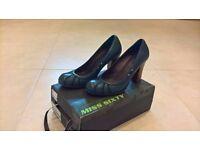 Women's Shoes - Miss sixty Heels, Size 5 - Celeste