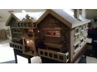 Amazing Old Large Custom Made Dolls House