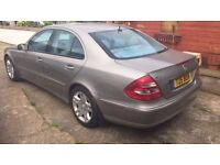 Stunning Mercedes E320 avantgarde for sale private plate included in sale low mileage diesel