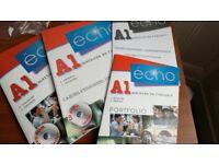 Echo : Methode de francais A1