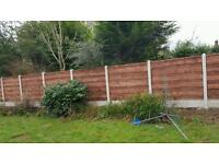FENCING.fence panels.Gates..M60fencing 20miles around manchester