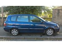 Kia Carens 2.0 AUTOMATIC DIESEL 2004 (54) **Low Mileage**Full Years MOT**Only £1195**