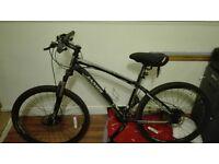 Jamis Helix Ladies 21 speed mountain Mountain Bike and Mens Trail X3 24 speed