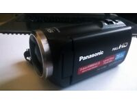 Panasonic HC V180 Camcorder - Black - IMMACULATE CONDITION !